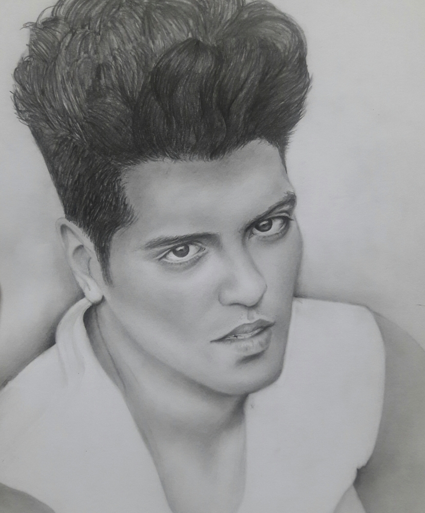 Bruno Mars by Anngie